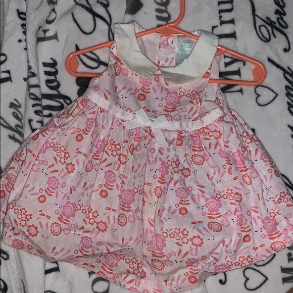 Nursery Rhyme Other - Cute collared Bunny Dress